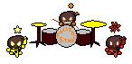 Dark Chaos Rock Band by CherryBlossom14
