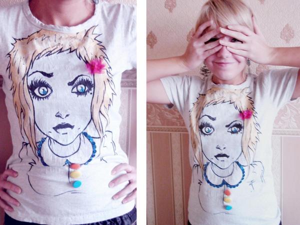 T-shirt by iwobella