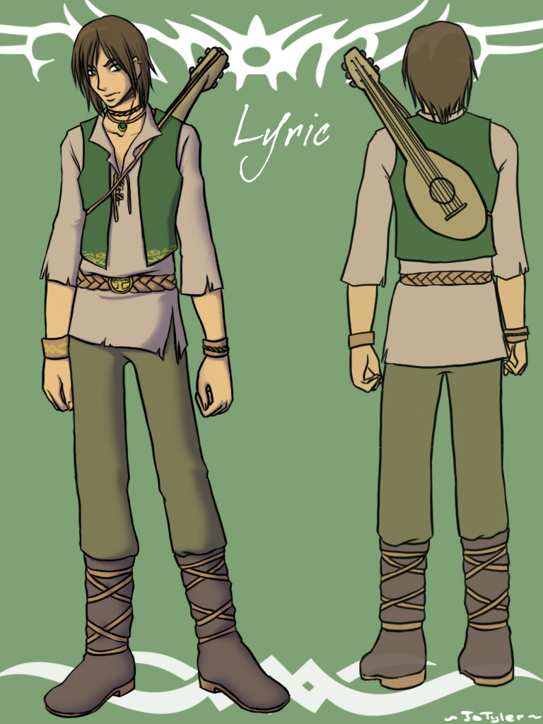 Lyric the Bard by Murphyslaw159