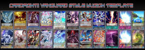 Cardfight!! Vanguard Style Yugioh Template by ShadowMaria56