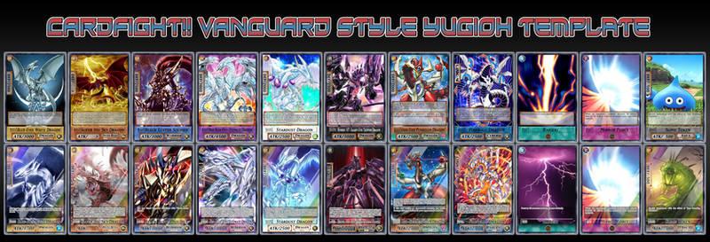 Cardfight!! Vanguard Style Yugioh Template