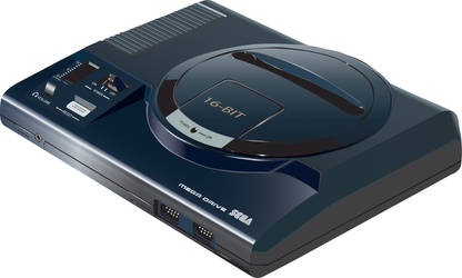 Sega Megadrive by leelearn
