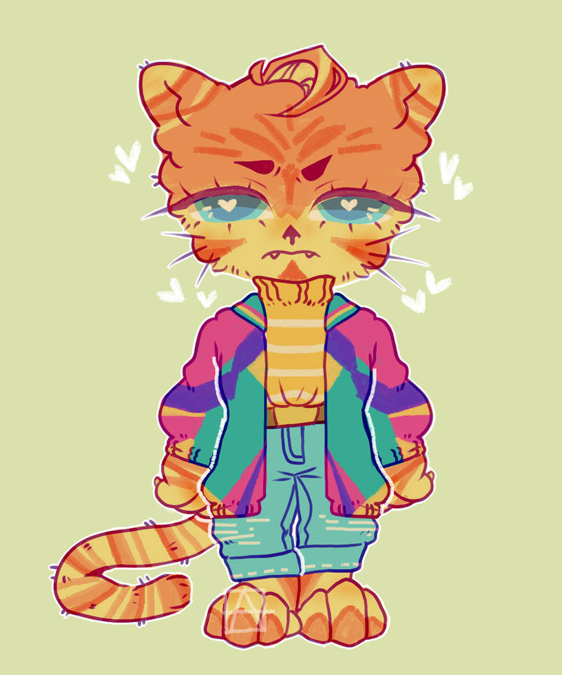 ANGRY LITTLE CAT SET PRICE 5$ :CLOSED: by SrFlamencoDonations