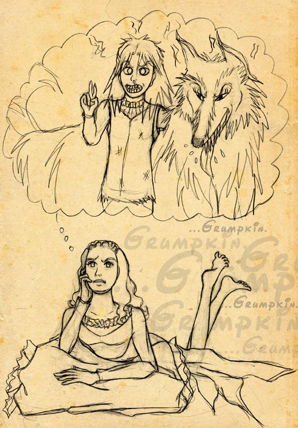 The Grumpkin and the Craven - 1 of 2 by saki-guzman