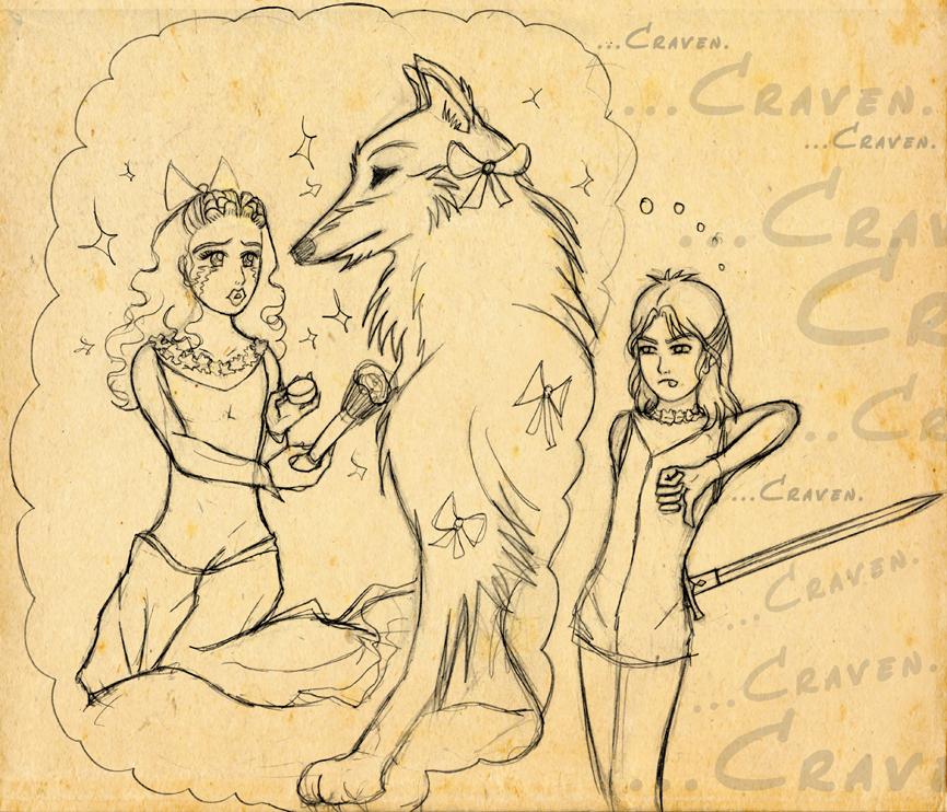 The Grumpkin and the Craven - 2 of 2 by saki-guzman