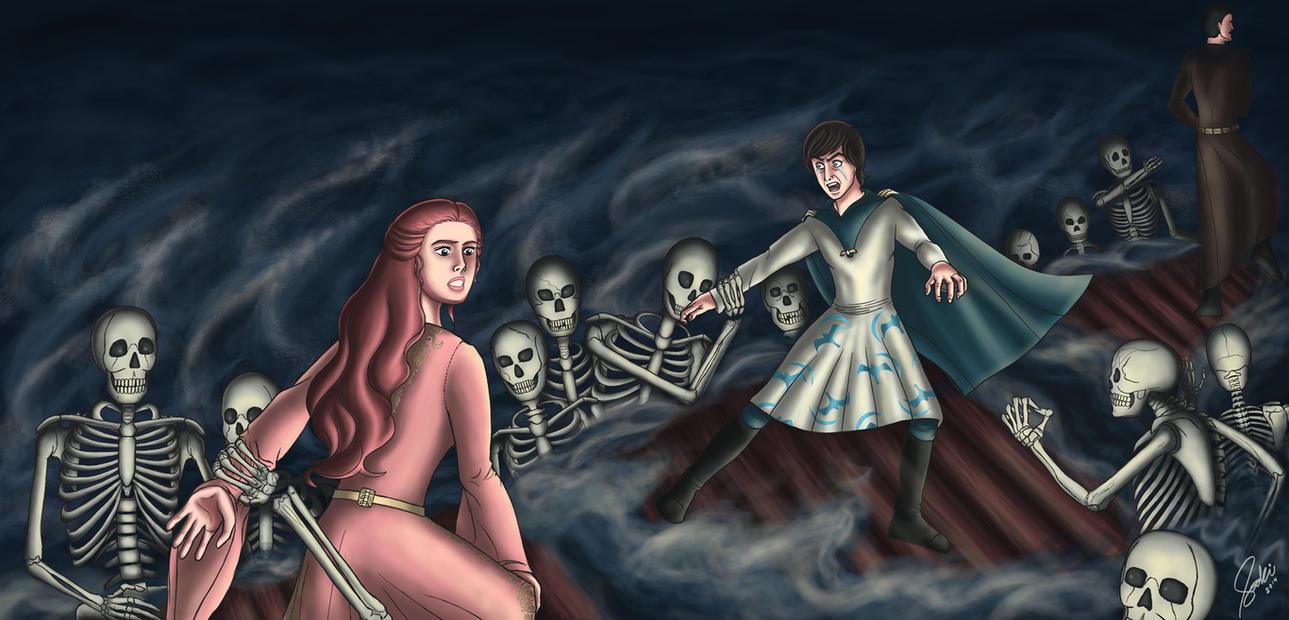 Flesh and Bone by saki-guzman