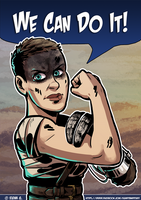 Furiosa can totally do it! by 0viper0