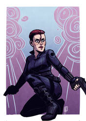 Black Widow by 0viper0