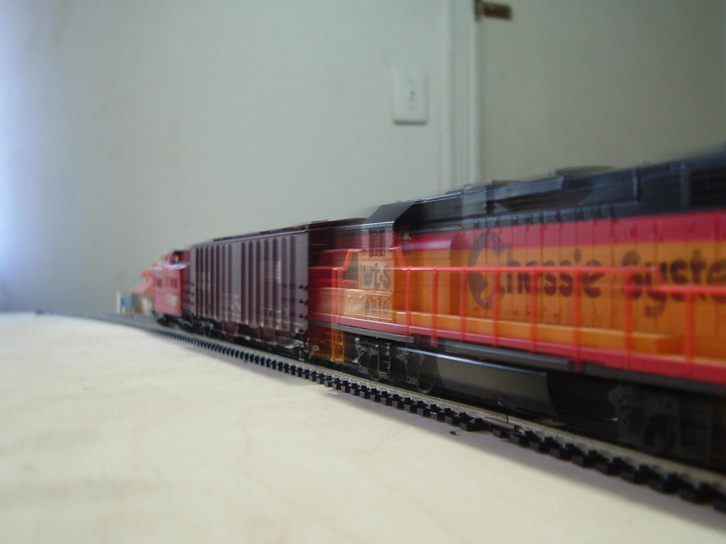 Woodstock and Southern GP38M-2 #4810 by Tracksidegorilla1