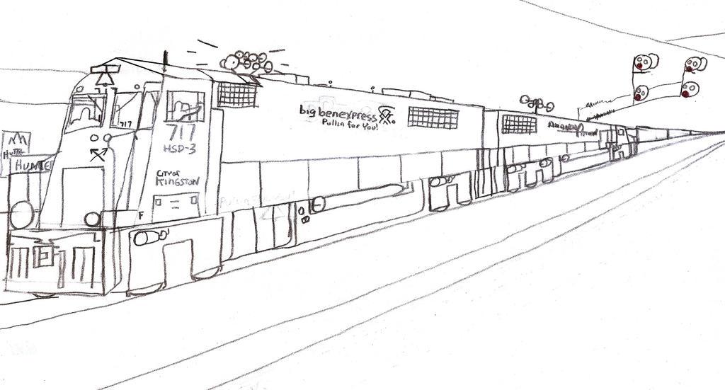 Big Ben Express HSD-3 #717 by Tracksidegorilla1