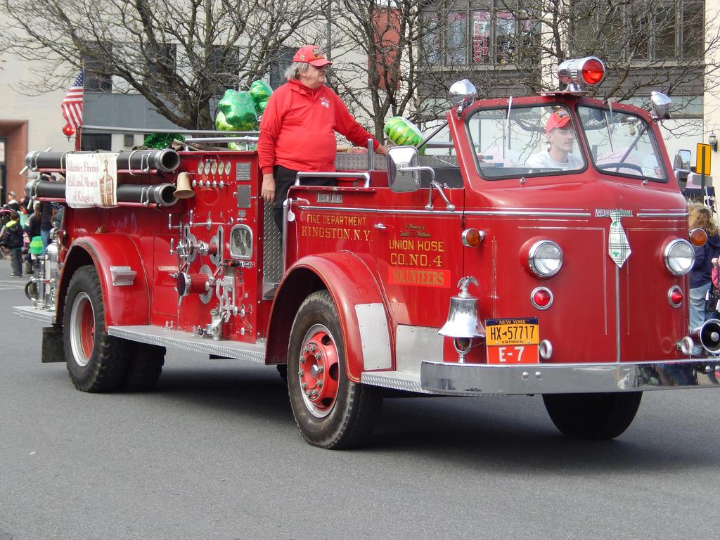 Kingston Fire Dept ALF Engine 7 by Tracksidegorilla1