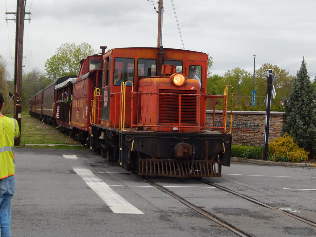 Catskill Mountain Railroad 44 Tonner #42 by Tracksidegorilla1