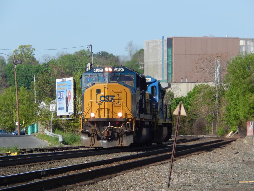 CSX SD70AC #4521 by Tracksidegorilla1