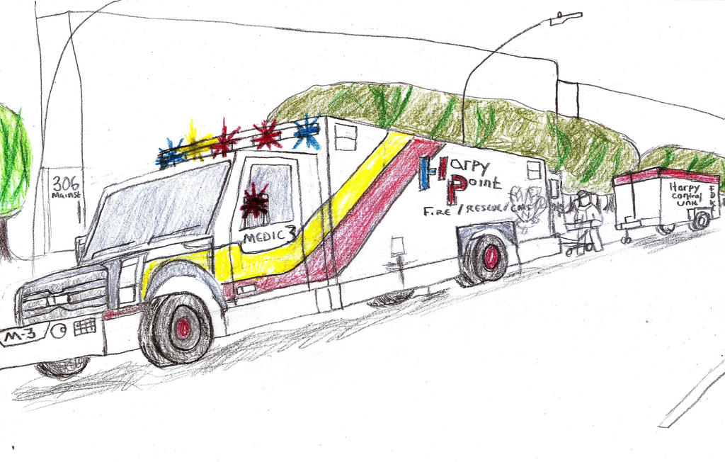 Harpy Point Fire and Rescue Medic 3 by Tracksidegorilla1