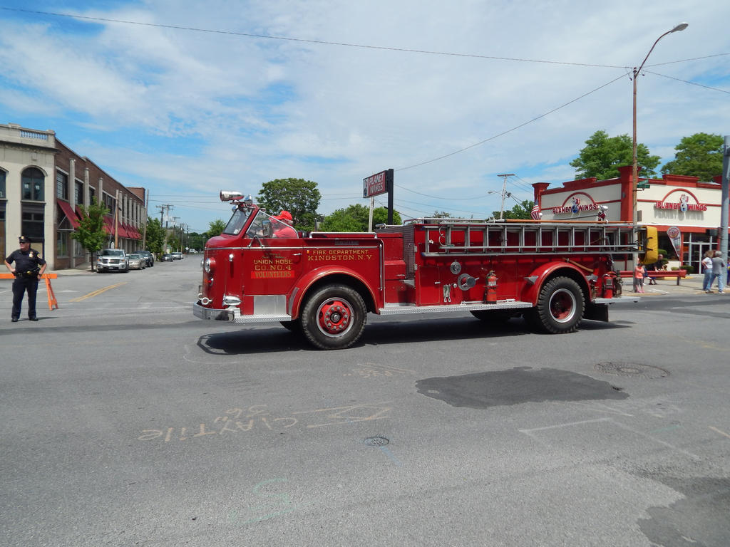 Kingston Fire Dept ALF Engine 7 by Tracksidegorilla1