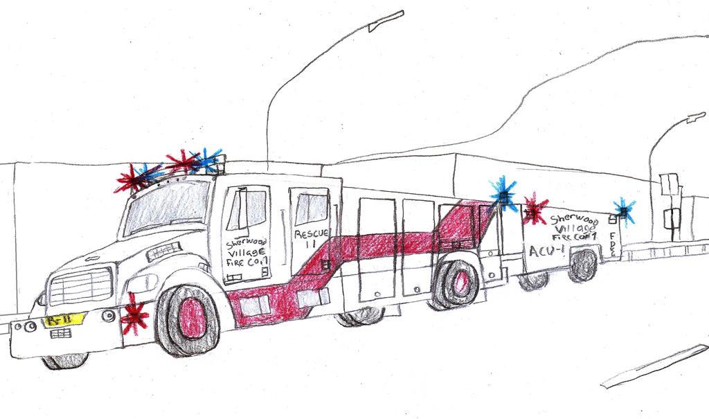 Sherwood Village Freightliner Rescue 11 by Tracksidegorilla1