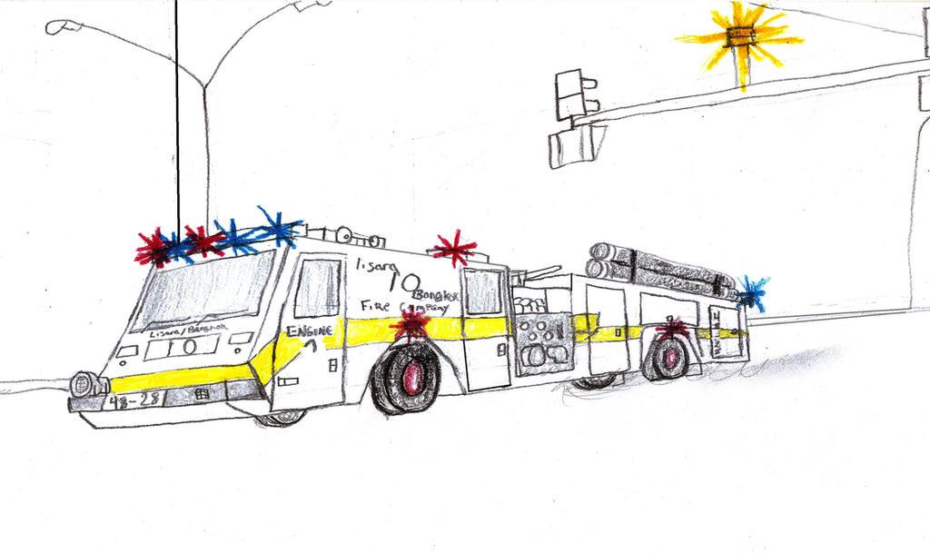 Lisara-Bangkok Fire Co Minotaur Engine 1 by Tracksidegorilla1