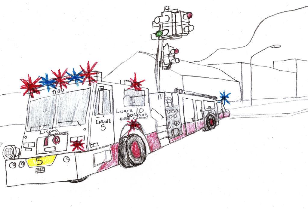 Lisara-Bangkok Fire Co Minotaur Engine 5 by Tracksidegorilla1