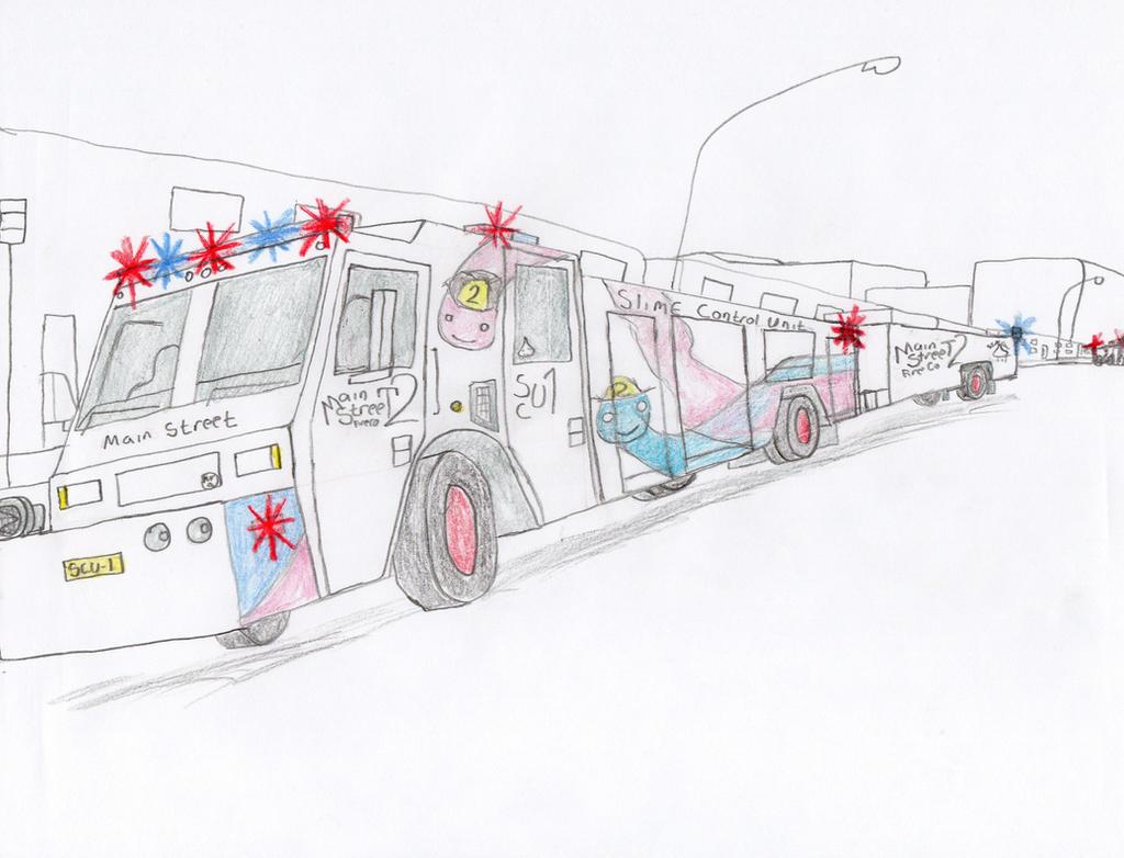 Main Street Fire Co Minotaur SCU-1 by Tracksidegorilla1