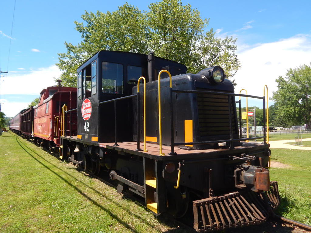 Catskill Mountain Railroad 90Tonner #42 by Tracksidegorilla1