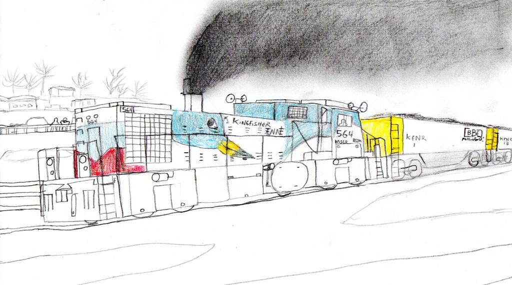 Kingfisher Inn Railway RS2m #564 by Tracksidegorilla1