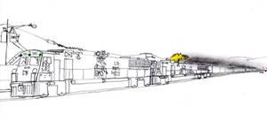 Big Ben Express HSD-9 #582