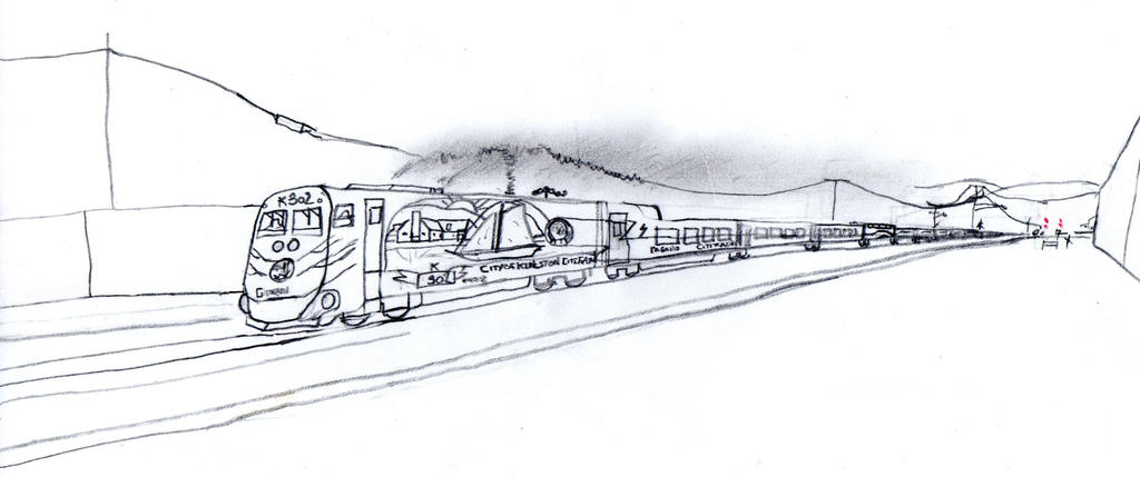 Kingston CitiTrain Lp28-2 #K-302 by Tracksidegorilla1
