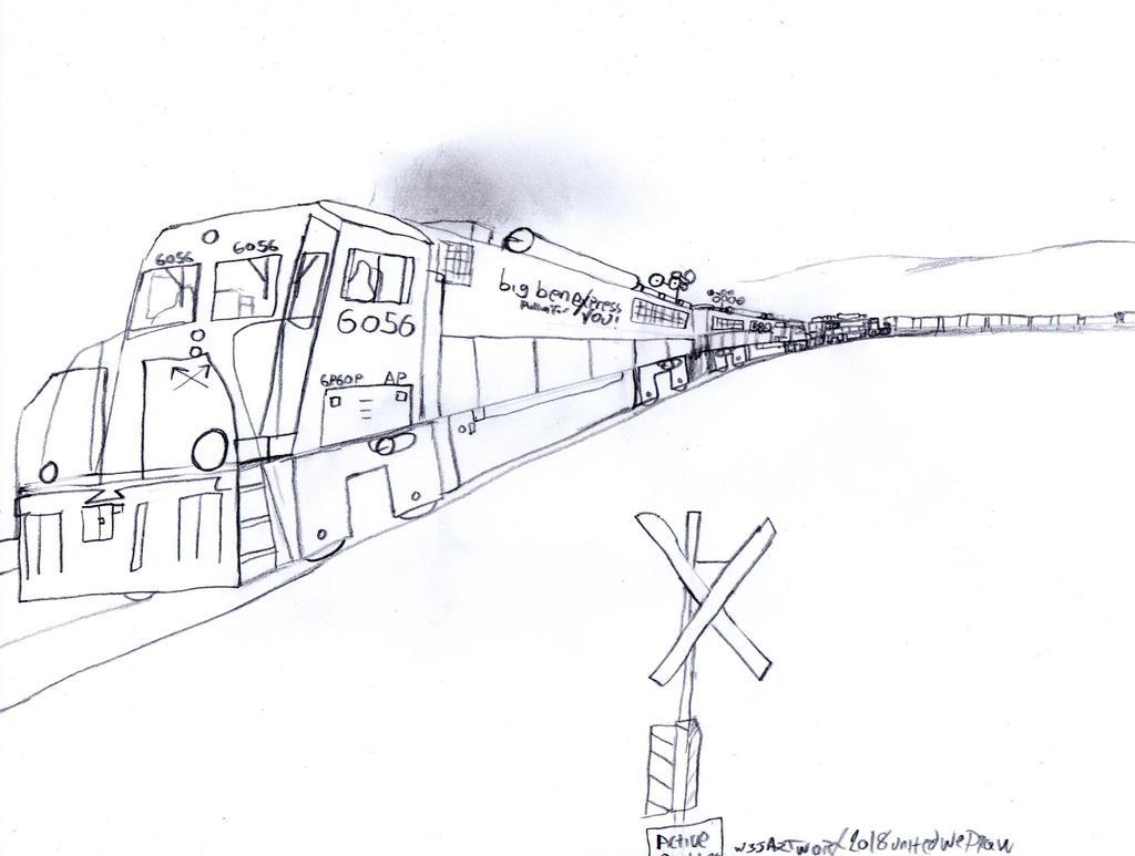 Big Ben Express GP60P #6056 by Tracksidegorilla1