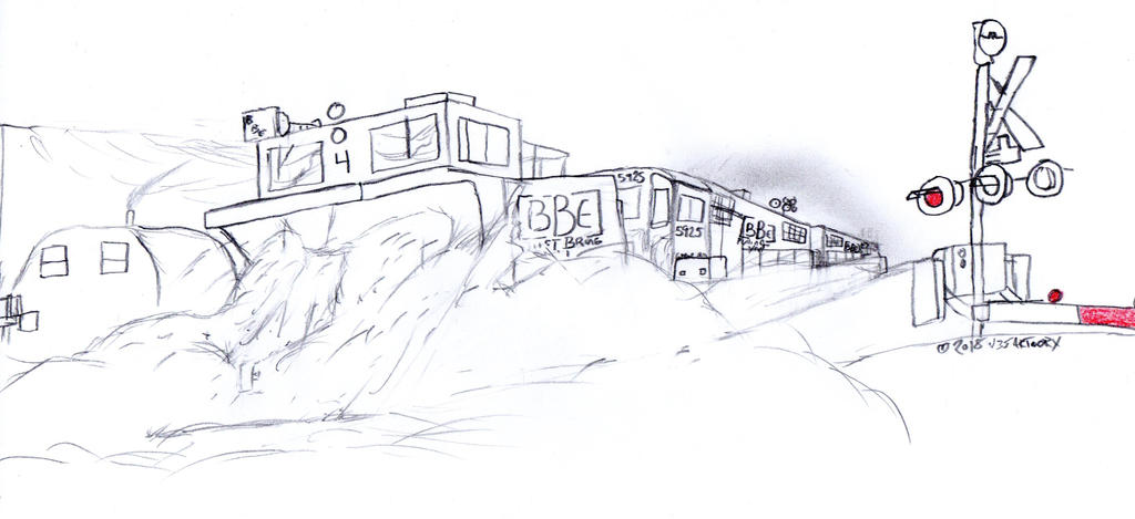 Big Ben Express Plow 04 by Tracksidegorilla1