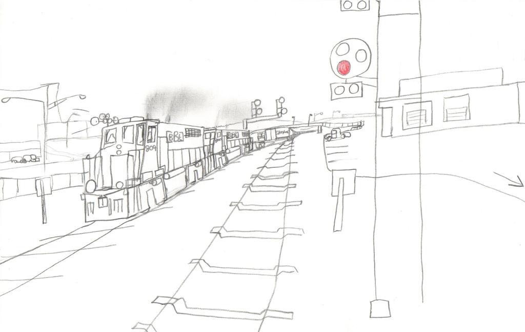 Big Ben Express GP40P-2 #809 by Tracksidegorilla1