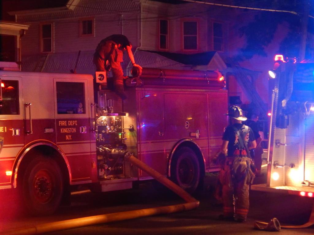 Cedar Street Structure Fire by Tracksidegorilla1