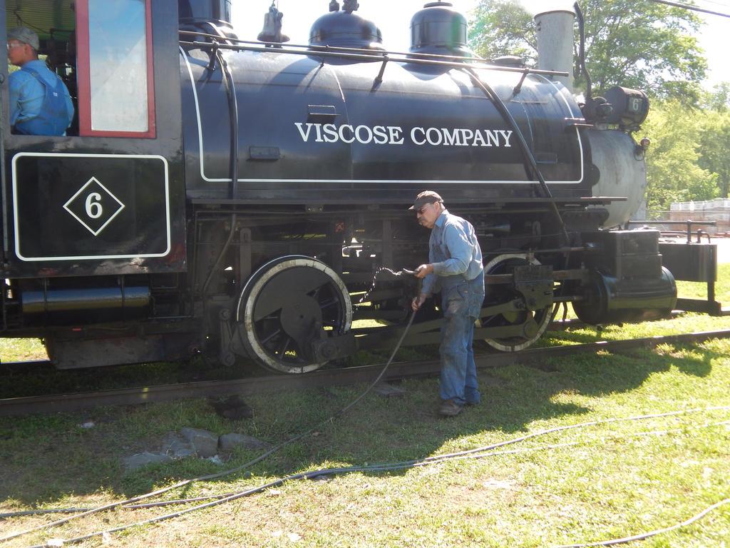Viscose Company 0-4-0T #6 by Tracksidegorilla1