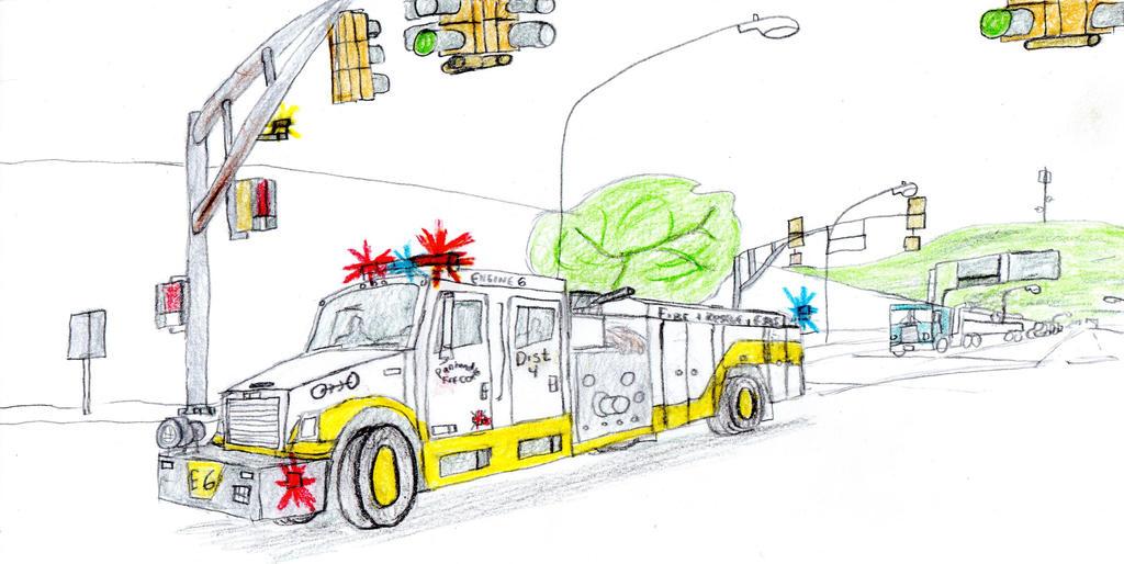 Panhandle Fire Co. FL70-Minotaur Engine 6 by Tracksidegorilla1