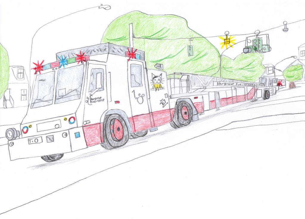 Hargrove Fire and Rescue Minotaur Hyena I Truck 10 by Tracksidegorilla1