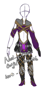 [Outfit] [Adoptable] Female Dark Mage