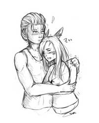 Orchis and Lancer Sketch