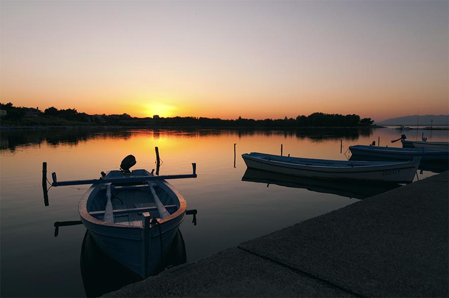 sunset in Vir by WETkitchen