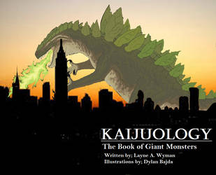 Kaijuology: the Book of Giant Monsters by VentureWorld