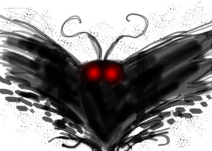 Mothman by maneakiller