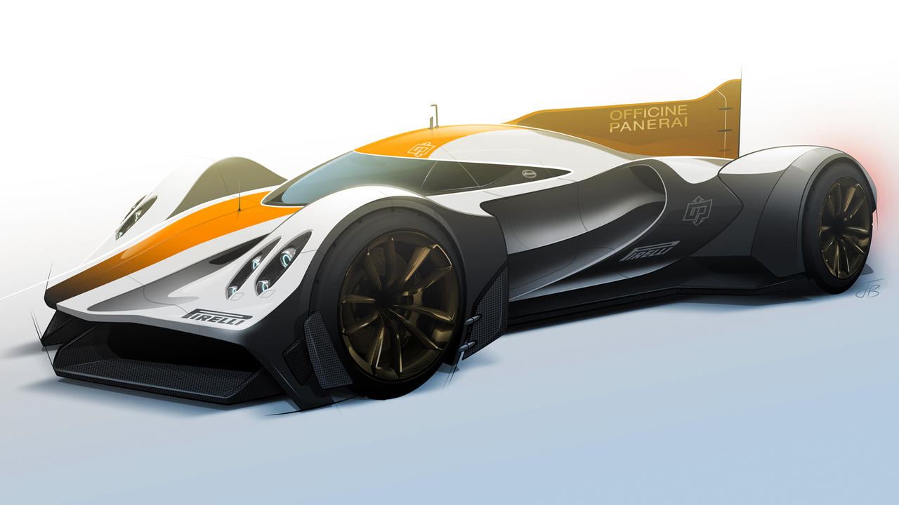 Track Ready Pagani Lemans Lmp1 Concept By Bostaddesign On