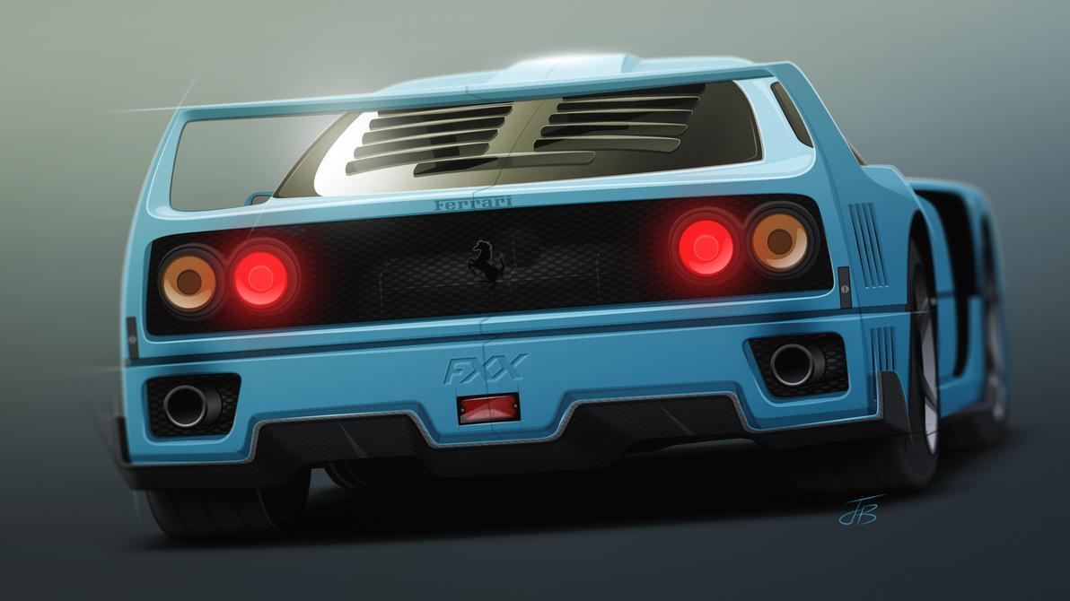 Ferrari f40 concept