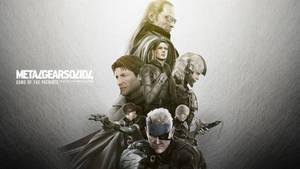 Metal Gear Solid 4 wallpaper by kidkonkakt