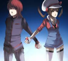 Pokemon: Rivalry by GRAVEWEAVER