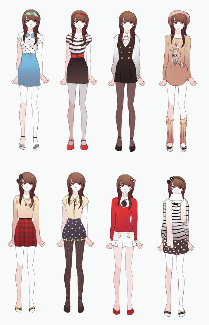 My Outfits By Dragons Roar On DeviantArt