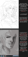 Grayscale Coloring and Painting: How I Draw