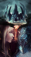 World of Warcraft: Lament of The Lich King by GRAVEWEAVER