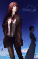 Steins Gate by GRAVEWEAVER