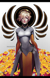 Overwatch: Your Guardian Angel - Mercy by GRAVEWEAVER