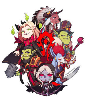 WORLD OF WARCRAFT: FOR THE CHIBI HORDE!
