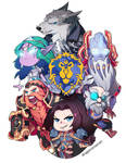 WORLD OF WARCRAFT: FOR THE CHIBI ALLIANCE!